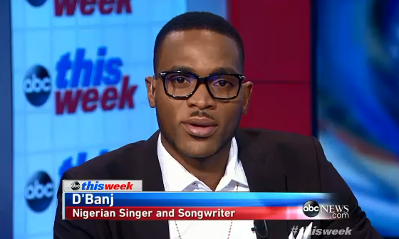 VIDEO: America's ABC News Interview Dbanj On The US - African Leaders Summit 1
