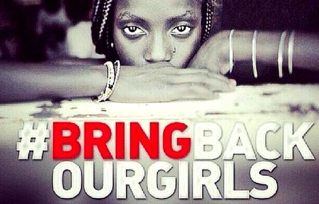 bring back our girls We know they will be back join us to stand for our #chibokgirls, #leahsharibu  and other abductees today at falomo roundabou 12-1pm #bringbackourgirls .