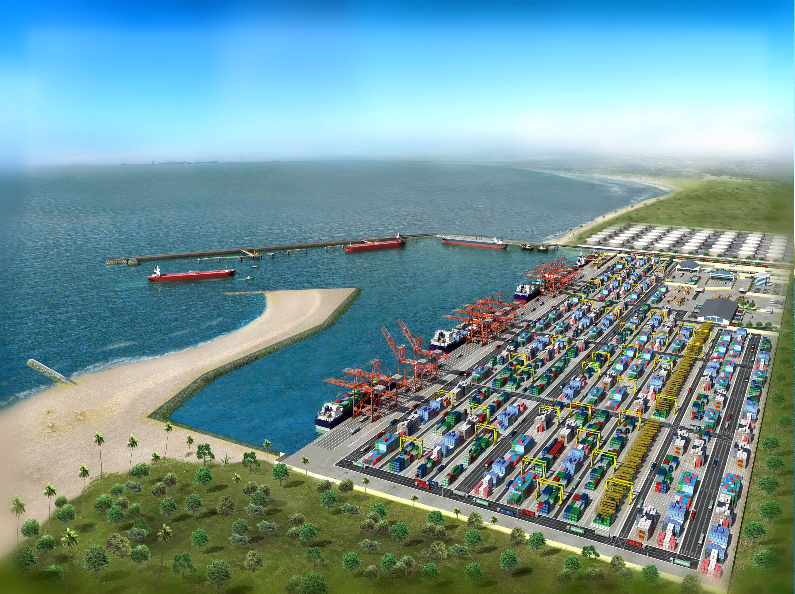 Lekki Sea Port Design CPAfrica - Port design